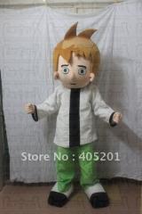 Ben ten costume boy mascot costume