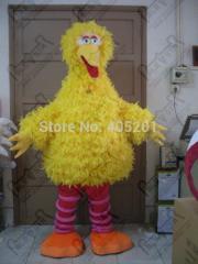 The big yellow bird costume/yellow bird mascot