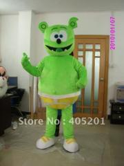 Green bear costume bear mascot costume