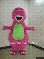 Barney costume barney family mascot costume