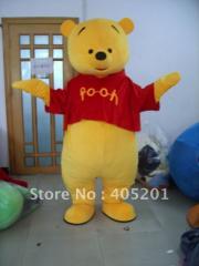Bear costume winnie the bear mascot costume