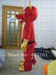 Red bull costume animal mascot costume