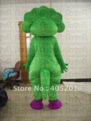 Bj barney costume barney mascot costume