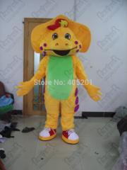 BJ barney mascot costume/barney family costume