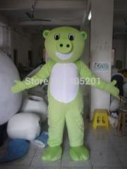 Smile pig costumes cartoon animal walking disguise