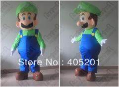 Super luigi mascot costumes mario costumes click