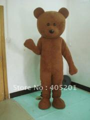 Slim brown bear costumes bear mascot costumes