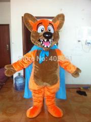 POLYFOAM high quality costume orange fur fox
