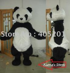 Panda disguise mascot costumes cartoon panda