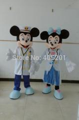 Navy mickey and minnie mascot costumes hot sale