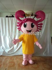 POLYFOAM high quality costume custom lovely crab
