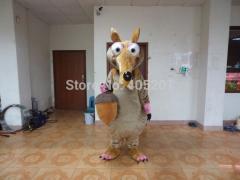 Export cartoon ice age mascot costumes squirrel