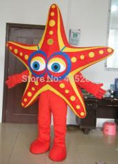 High quality hand make export star fish mascot