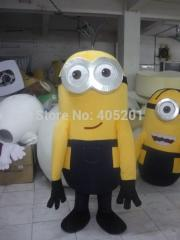 Two eyes funny minions mascot costumes despicable