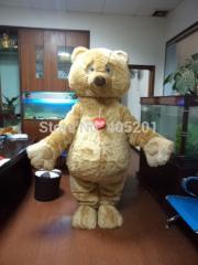 POLYFOAM high quality costume plush teddy bear