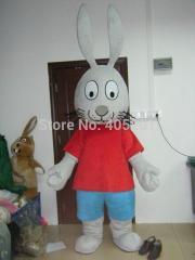 2014 new walking disguise popular rabbit mascot