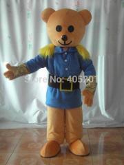 Fancy dress teddy bear mascot costumes