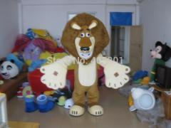 POLYFOAM head with cool fan and helmet big lion
