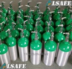 Aluminum Medical Oxygen tank