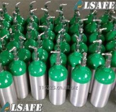 Aluminum Medical Oxygen tank