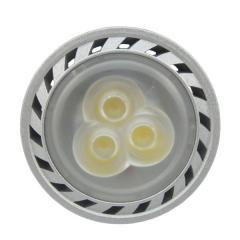 Silver casing led spotlight 3w