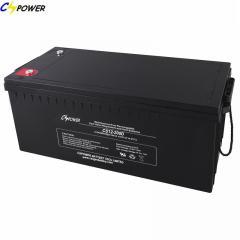 12V200ah AGM Deep Cycle Sealed Lead Acid Battery/UPS Battery