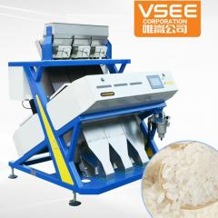 Optical color sorter for rice