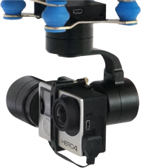 JTT 3D Gyro-stabilized gimbal 3 axis gimbal for