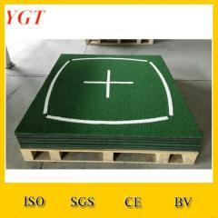Grass mat roll oil resistant rubber mat golf