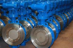 API 609 triple offset wafer butterfly valve