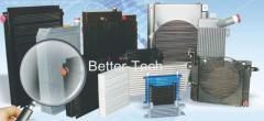 铝制板翅式热交换器、冷却器、油冷器、空气冷却器