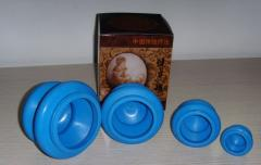 Rubber cupping set hijama