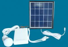 Mini portable solar power system