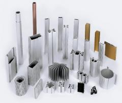 Aluminum extrusion profile with anodizing or