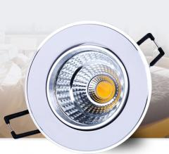 5W LED COB Down Light, warm white, white, cool