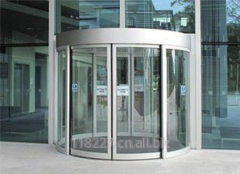 Automatic Curved Sliding Door, KC1000