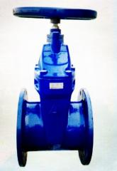 ISO certified gate valve Resilient seated
