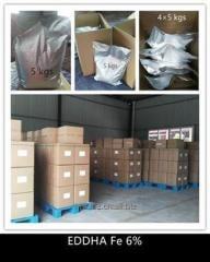 Trace element fertilizer EDDHA Fe 6%