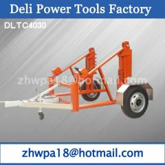 High Duty Cable Reel Trailer export to Dubai