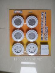 2.4G遥控LED小夜灯