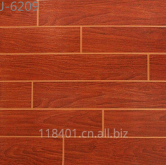 60X60cm silk screen glazed ceramic wooden wall tiles
