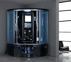 Bathroom Design Acrylic Shower Cabin Steam Sauna Room K-7029