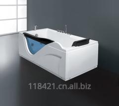 Acrylic Rectangular Massage Bathtub with Glass K-8908 (L / R)