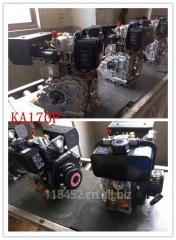 KA170F单缸四冲程风冷柴油机
