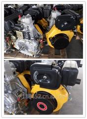 KA186F单缸,四冲程8HP风冷柴油机