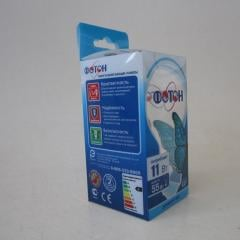 PVC display box,folding packaging box