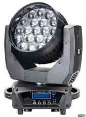 Moving Head Wash,19*12W 4in1 LED Moving Head Zoom