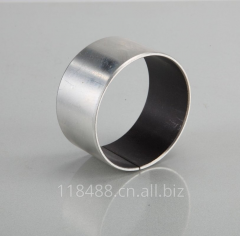 Steel based self-lubricating bearing