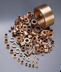 Oilite bushings / sintered bronze bushings