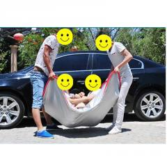 Aluminum half car cover